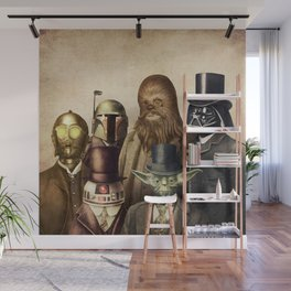 Victorian Wars (square format) Wall Mural
