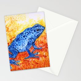 The Poisonous Frog By Pam Hayes Stationery Cards