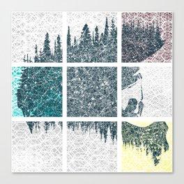 Fullface colors Canvas Print