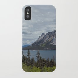 Tagish Lake Yukon Canada iPhone Case