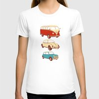cars T-shirts featuring Classic cars by John Holcroft