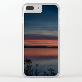 Another colorful morning Clear iPhone Case