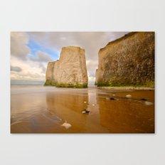 Botany Bay Kent Coast England Canvas Print