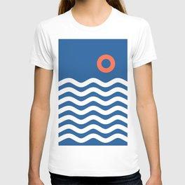 Nautical 03 Seascape T-shirt