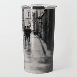 on the streets of Cambridge ... Travel Mug