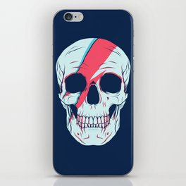 Bowie Skull iPhone Skin