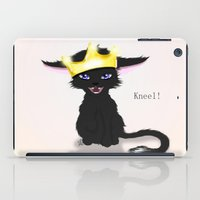 stephen king iPad Cases featuring King by quackso