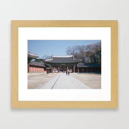 Chak Chak Framed Art Print