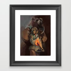 Hart and Zachary Framed Art Print