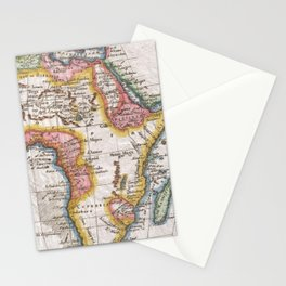 Vintage Map of Africa (1780)  Stationery Cards