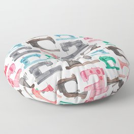 Sewing Machines Floor Pillow