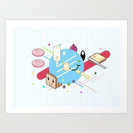 Tasty Visuals - Mayooo Art Print