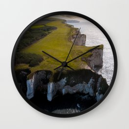 Coast of England Wall Clock