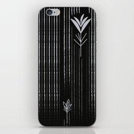 Black Siam Tulips iPhone Skin