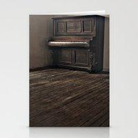 piano Stationery Cards featuring Piano by Flashbax Twenty Three