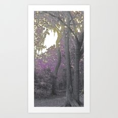The Color Purple Art Print