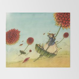 Seeds In The Wind Throw Blanket