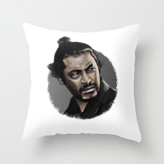 Yojimbo Throw Pillow