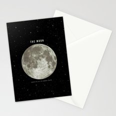 The Moon  Stationery Cards