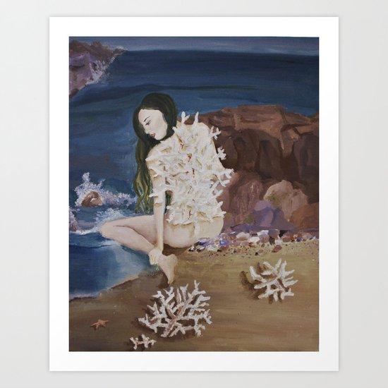 Coral Art Print