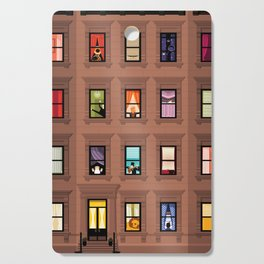Brownstone Windows Cutting Board