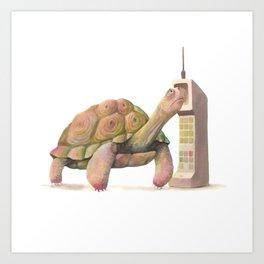 Slow Tech Art Print