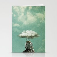 rain Stationery Cards featuring Rain by Seamless