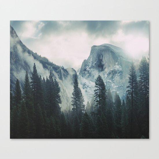 Cross Mountains II Canvas Print