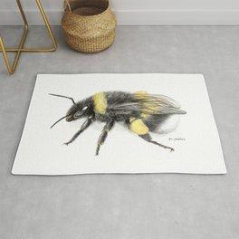 White-tailed bumblebee Rug