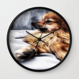 Into The Distance... Wall Clock