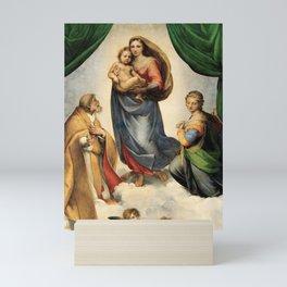The Sistine Madonna, Rafael Sanzio, 1512 Mini Art Print