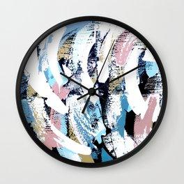 Abstract Clara Wall Clock