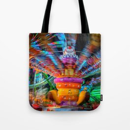 Cray Cray crazy fun at the carnival Tote Bag