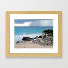 Beautiful Bermuda Beach 2 Framed Art Print