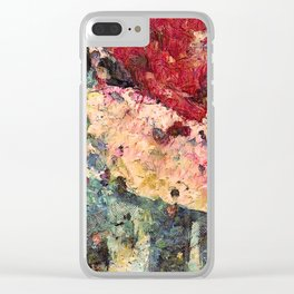 Deliciously Colorful Clear iPhone Case