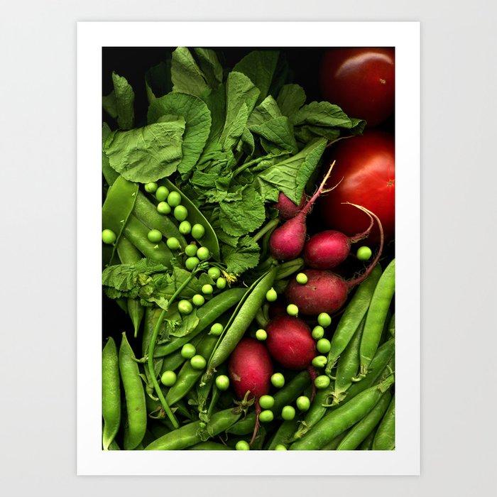 Summer Salad Art Print