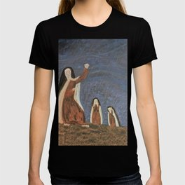 St. Teresa Shakes Her Fist At God T-shirt
