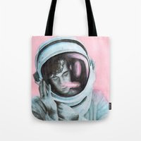 matty healy Tote Bags featuring ASTRO BOY // MATTY HEALY by Jethro Lacson