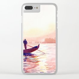 Canal Grande, Venice Clear iPhone Case