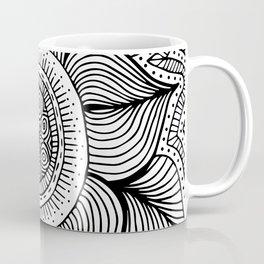 Doodle Flower Coffee Mug