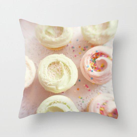 Cupcakes Throw Pillow