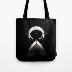 romantic moon Tote Bag