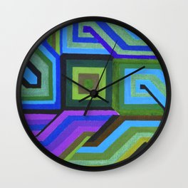 Love and Logic Colour Variation Wall Clock