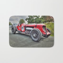 Vintage Napier Bentley Racing Car Bath Mat