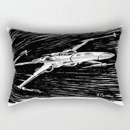 X-Wing Rectangular Pillow