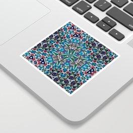 Distorted Pattern Sticker