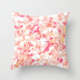 Terrazzo Delight Throw Pillow