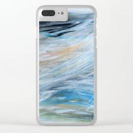 Sfumature. Shades. Nuances. Clear iPhone Case