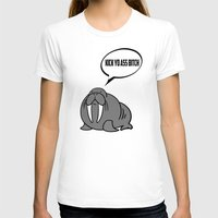 walrus T-shirts featuring Angry Walrus by Joe Hilditch