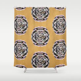 Sweet Pink Rose Shower Curtain